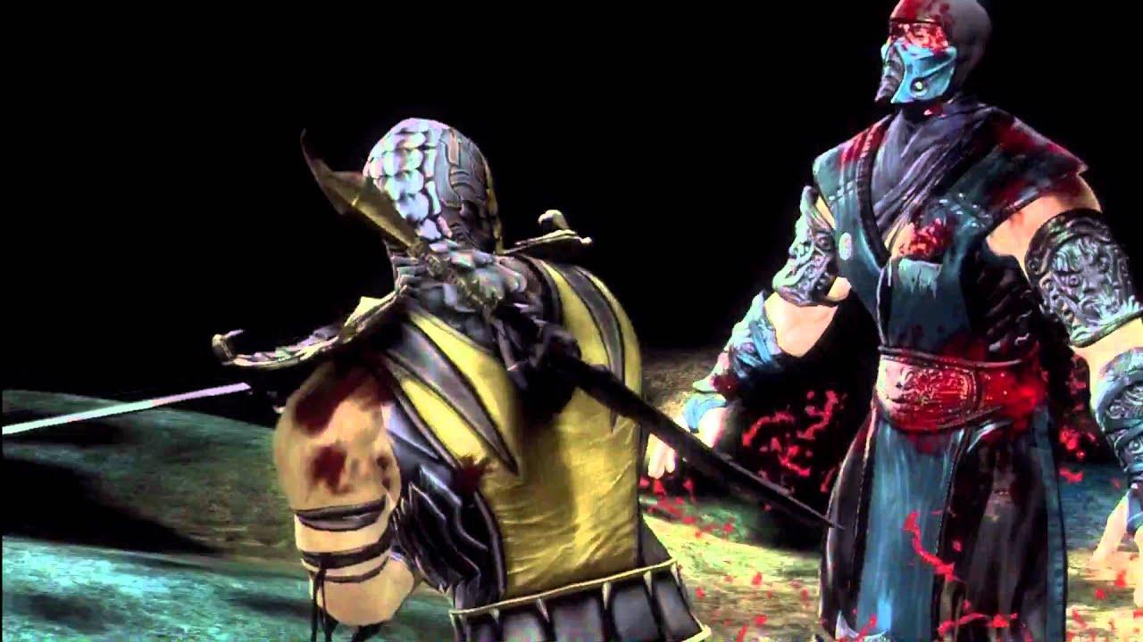mortal kombat 9 scorpion fatality split decision hd youtube