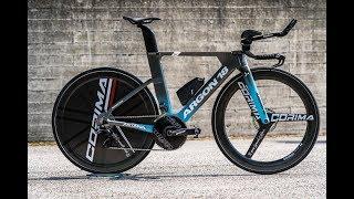 Review of new Argon 18 TT bike for Astana Team 2019.
