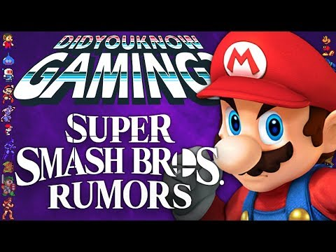 A Complete History of Super Smash Bros Rumors  Did You Know Gaming? Ft Remix