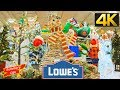 COMPLETE LOWES CHRISTMAS 2019 DECORATIONS STORE WALK THROUGH CHRISTMAS TREES ORNAMENTS GIFT IDEAS