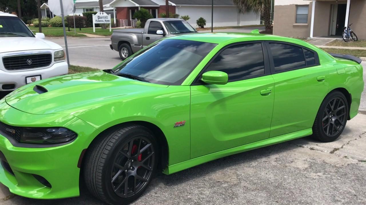 2017 Ram 1500 Srt Hellcat >> 2017 Dodge Charger scat pack go green - YouTube