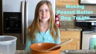Making Whole Wheat Peanut Butter Dog Treats By Samantha Potter