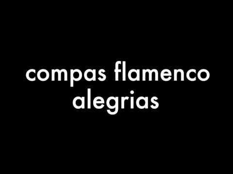 compas flamenco alegrias