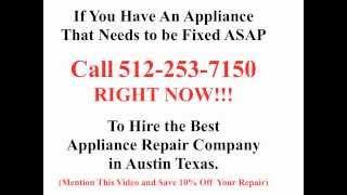 Best Appliance Repair Austin Tx