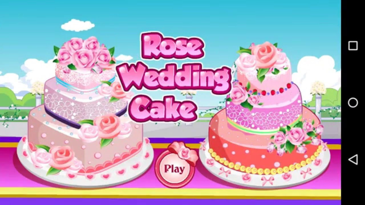 How To Play Rose Wedding Cake Game - Simple & Easy Cooking Games ...
