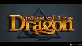 Rise of the Dragon gameplay (PC Game, 1990)