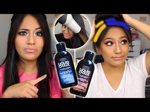 does-loreal-liquid-hair-chalk-work-on-dark-hair??