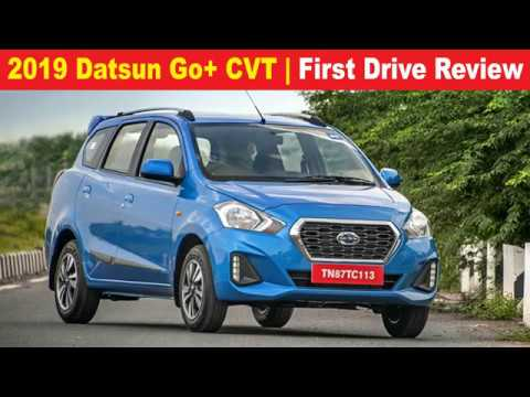 2019 Datsun Go+ CVT review, test drive #datsun #datsungocvt #datsungopluscvt