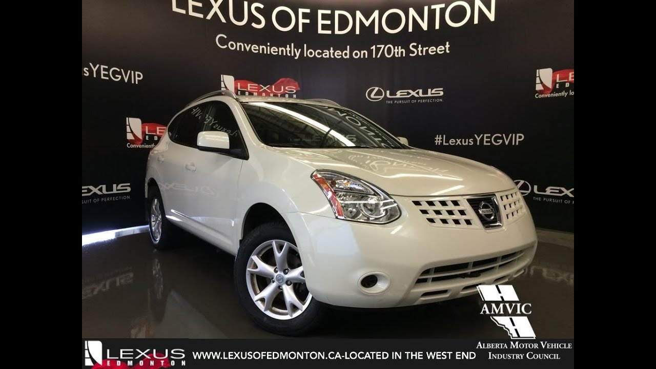 Used 2009 white nissan rogue awd walkaround review airdrie used 2009 white nissan rogue awd walkaround review airdrie alberta vanachro Image collections