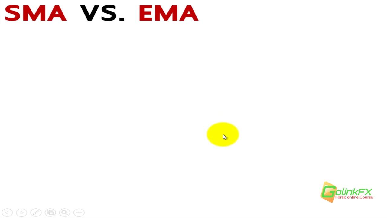 สอนเทรด Forex ฟรี –  เปรียบเทียบระหว่าง EMA กับ SMA  | LINE : @GOLINKFX