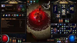 Path of Exile: Infinitely Accelerating DPS Concept