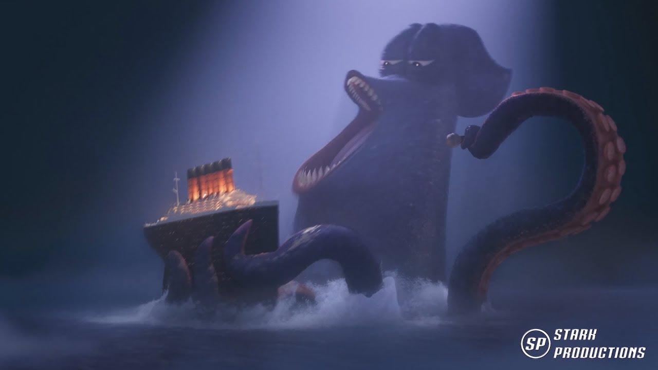 Hotel Transylvania 3 - El Kraken [1080P] Español