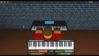 Slow - Despacito & My Great Hits by: Luis Fonsi & Daddy Yankee on a ROBLOX piano.