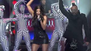 The Black Eyed Peas - Boom Boom Pow (Live at Dick Clark New Year's Eve)