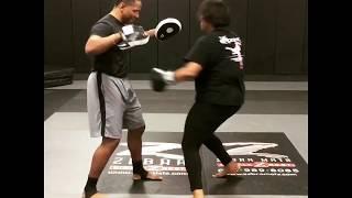 Punching Drills with Tonya | Q6 Fight