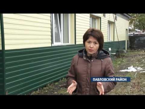 Три семьи в Павловском районе добровольно живут в неотапливаемом доме