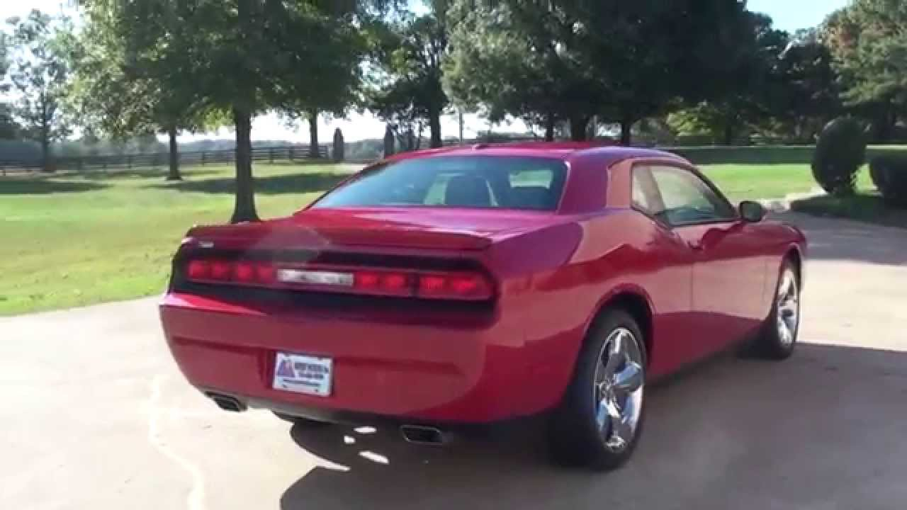 Hd Video 2012 Dodge Challenger Red Line Pearl V6 For Sale
