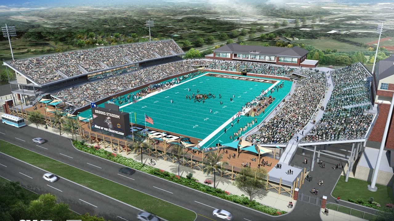 Coastal Carolina University Tuition >> Coastal Now Groundbreaking For Expansion Of Brooks Stadium