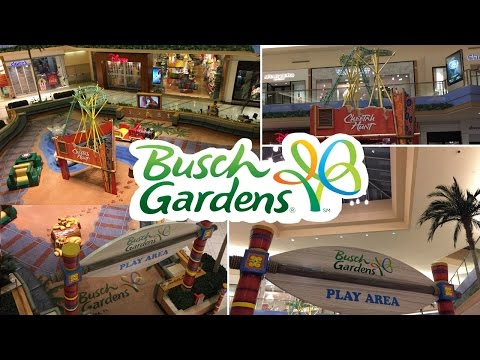 Busch Gardens Tampa Mall Play Area Tour (International Plaza Mall Tampa, Florida)