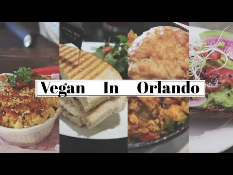 WHERE TO EAT AS A VEGAN IN ORLANDO