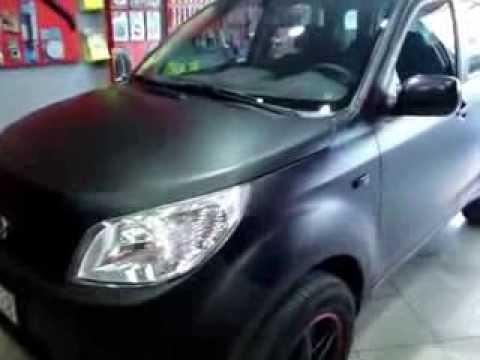 Video Daihatsu Terios ~ CAR WRAPPING GREECE BLACK MATTE CARS DAIHATSU TERIOS