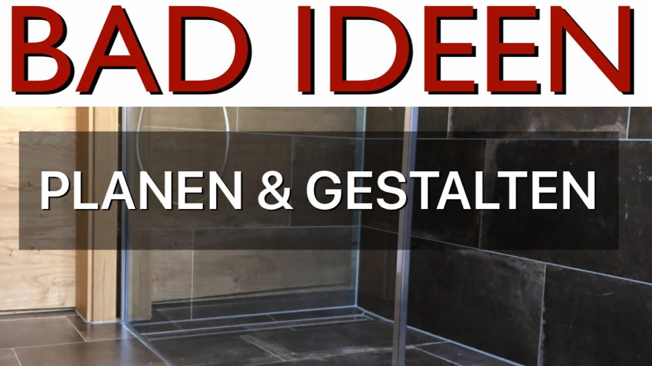 Bad Ideen Badezimmer Planen Und Gestalten Youtube