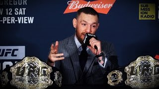 UFC 205: Conor McGregor Unveils Announcement, Reacts To Eddie Alvarez Win