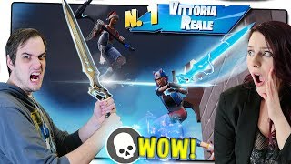 RECORD DI KILL CON SOLO LA SPADA DELL' INFINITO Solo VS Duo! Fortnite