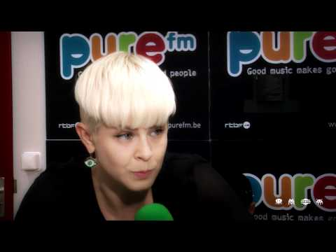 ROBYN Interview Rock Werchter 2011 on PURE