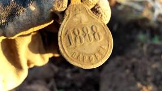 Жетон налог на собаку Варшава 1888