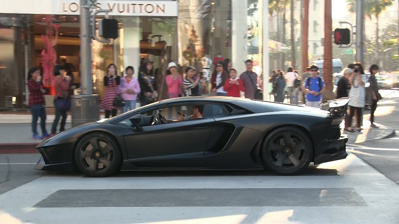 Beautiful Supercars Of Beverly Hills 3rd Edition! Ferrari LaFerrari, Lamborghini  Aventador, Bugatti Veyron!!   YouTube