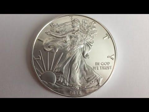 2018 America Silver Eagle 1 OZ. Fine Silver