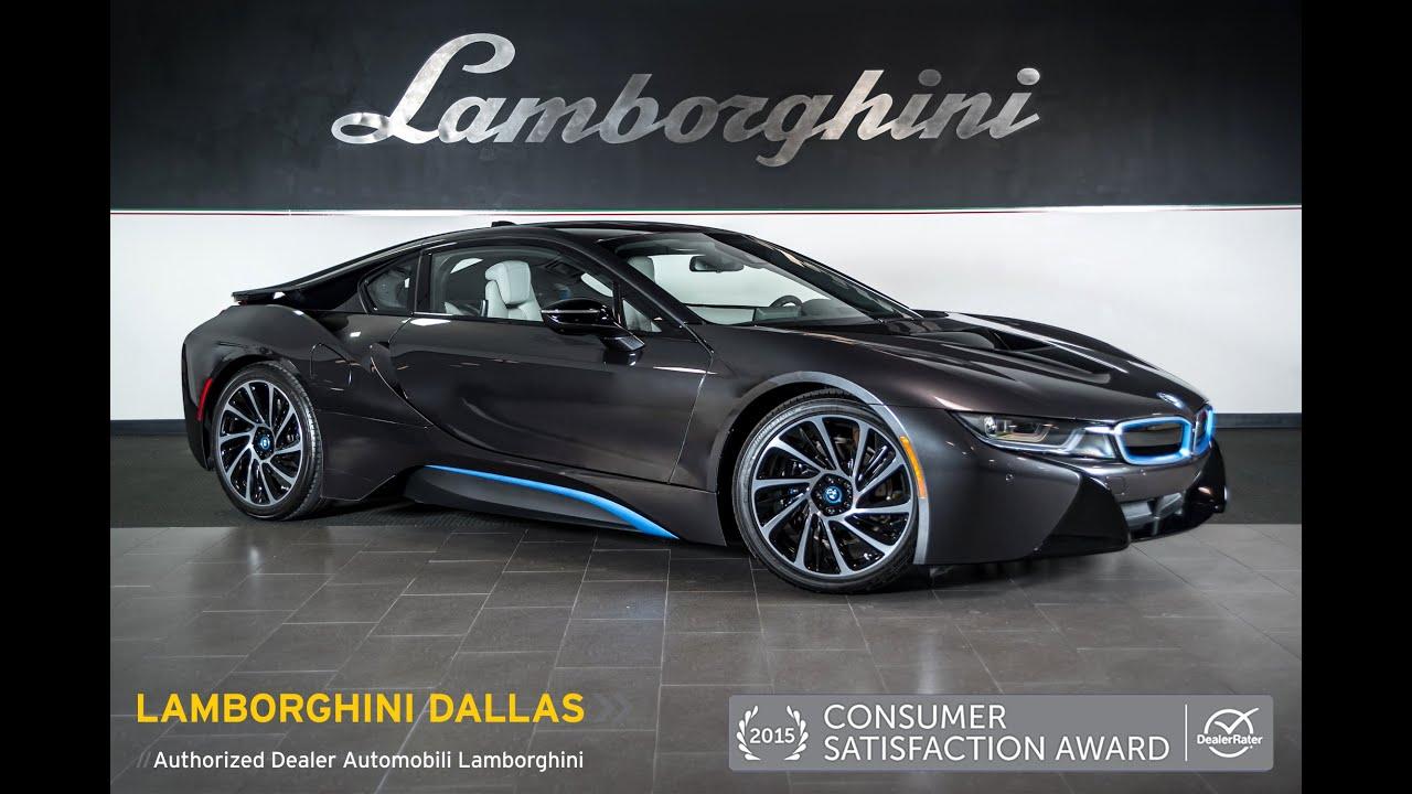 2014 BMW I8 Dark Metallic Gray LC396