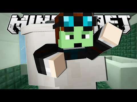 Thumbnail: Minecraft | JUMPED INTO A TOILET!! | Tall Dropper Custom Map