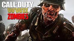 """Call of Duty WW2 Zombies - NEW WW2 ZOMBIES DLC """"THE DARKEST SHORE"""" WALKTHROUGH!!"""