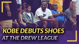 Lakers Nation News: Kobe Debuts New Shoes at Drew League Championship Game