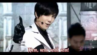 {RUS SUB} Park Jung Min  - Not Alone (Live Mix).avi