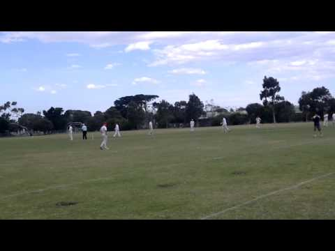 08122012: Paul O'Keefe Hundred vs Williamstown Congs