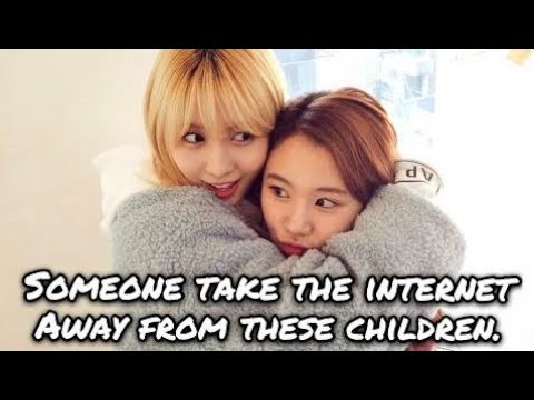 """stop these children (momo and chaeyoung dancing to """"we get turnt up"""") #1"""