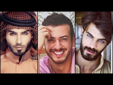 Handsome arab the man most in world Omar Borkan