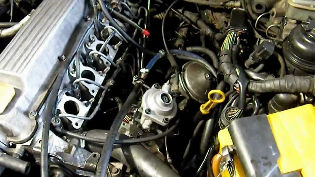 Ремонт ГБЦ Ford Sierra 2.3 D - YouTube