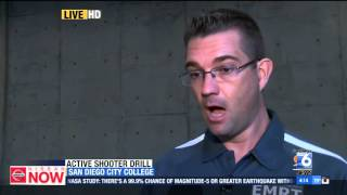 XETV-SD: San Diego Community College District Trains Students for Active Shooter Scenario