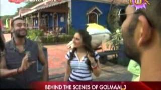 Behind the scenes of Golmaal 3