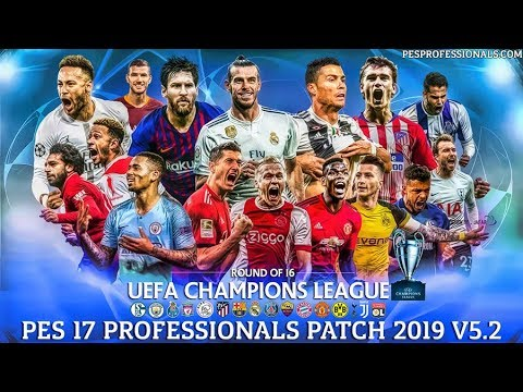 PES 2017 PES PROFESSIONALS PATCH 5.2 - RELEASED 22/02/2019