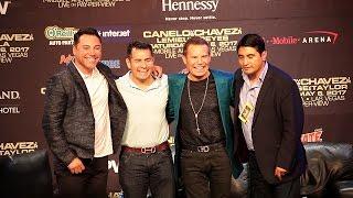LEGENDS EMBRACE! CHAVEZ SR., BARRERA, MORALES, DE LA HOYA FULL Q&A VIDEO
