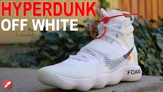 semáforo Respecto a entregar  Off White Nike Hyperdunk 2017 Flyknit Unboxing+Detailed Look! - YouTube