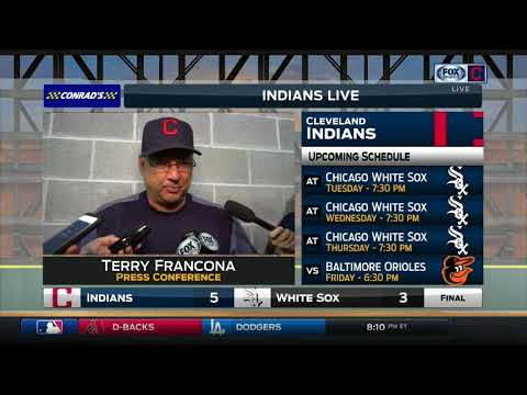 Terry Francona on in-game emotion of Trevor Bauer, Francisco Mejia's first MLB hit