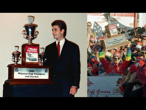 1995 NASCAR Winston Cup Series Awards Banquet Jeff Gordon Edit
