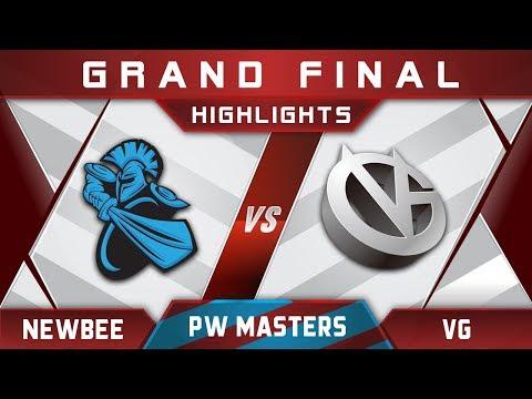 Newbee vs VG Grand Final Perfect World Masters 2017 Highlights Dota 2