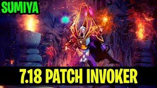 7.18 Patch Invoker - Sumiya - Dota 2